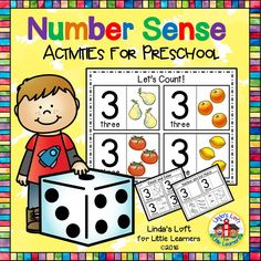 Number Activities for Preschool