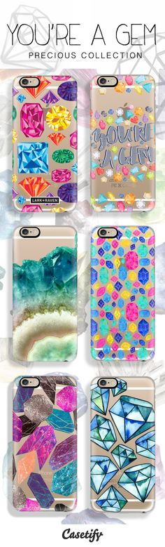 Crystal Clear. Tap the link here to shop these precious collection: http://www.casetify.com/product/XEpIS_white-marble/iphone6/261