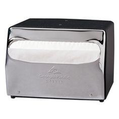 Georgia-Pacific Professional - Product Catalog - MorNap Full Fold Table Model Napkin Dispenser (51602)
