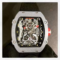 Richard Mille Rafael Nadal Tourbillon RM027 _______________________________________________________ #richardmille #tourbillon #swisstimelondon #luxurywatches #watches  #luxurylife #luxury #luxurywatch #luxurybrand #luxurystyle #luxurycar #luxurylifestyle #luxuryliving #rafaelnadal #watch #watchoftheday #rich #gentleman  #men #menstyle #menfashion #style #vip #instawatch #billionaire #millionairelifestyle #wealthy #money #success