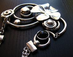 Hey, I found this really awesome Etsy listing at https://www.etsy.com/listing/93660846/the-wall-flower-silver-statement