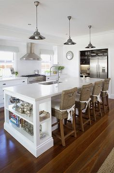 Roomble: Кухня с островом: зачем он нужен, как его правильно организовать