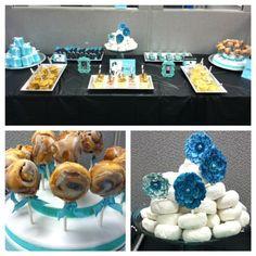 """""""Breakfast at Tiffany's"""" themed breakfast party!"""