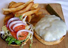 My hubbys burger he made #executivechef #yumm #accomacinn