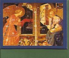 Mini Adventskalender: The Annunciation with envelop € 1,50