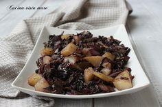 Radicchio e patate in padella