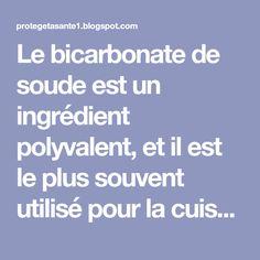 Le bicarbonate de soude est un ingrédient polyvalent, et il est le plus souvent utilisé pour la cuisson et le nettoyage, mais rarement quelqu'un sait qu'il peut également traiter divers maux et aider à perdre du poids..... Diet Tips, Detox, Homemade, Sport, Miracle, Courses, Beauty Box, Beauty Tips, Colon