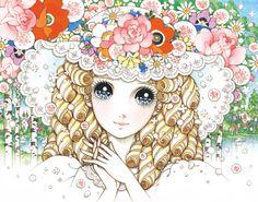 Girl romantic sweet illustration