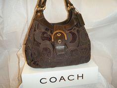 Rare Coach Soho Lynn Velour Hobo bag. Starting at $30 on Tophatter.com!
