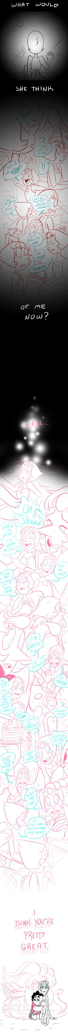 SU - Wonderful by JigokuHana on DeviantArt. I don't care how much I pin this I love it!!