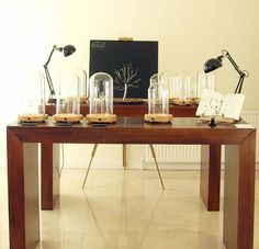 Specimens and sad-lamps. A laboratory of life.