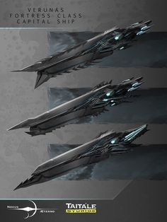 Novus Aeterno - Verunas Fortress Class by *AdamBurn on deviantART