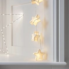 Twinkle twinkle, find yourself lying beneath our dreamy stars. Named after the astrological sign of the zodiac, our pretty paper lights radiate a wonderful warm white glow wherever they go! | Lights4fun.co.uk