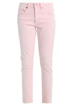 Pale pink jeans from Levi's