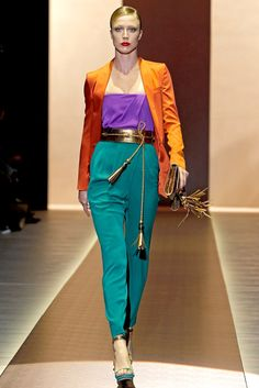Gucci Spring 2011 Ready-to-Wear Fashion Show (Giannini)