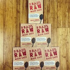 """Have you pre-ordered your copy of """"Brad's Raw Made Easy"""" yet? Get 150 easy-to-make recipes and learn just how easy it is to feel your best and live mostly in the raw!   Order your copy today: www.bradsrawchips.com/book"""