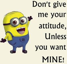 Funny Minion pictures with quotes (09:12:53 PM, Thursday 02, July 2015 PDT) – 10 pics #minions #minion #popular #funny #lol #humor #jokes #cute #funnypics #lmao #fun