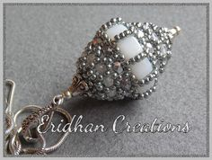 Beaded bead Wasp Nest tutorial by EridhanCreations on Etsy