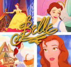 Princess Belle - Disney Princess Fan Art (37785276) - Fanpop