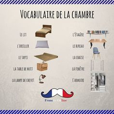 On commence la semaine avec le de la ! Bon lundi à tous. - We start the week with the of the ! Nice Monday to the all of you. French Language Lessons, French Language Learning, French Lessons, Foreign Language, French Flashcards, French Worksheets, French Phrases, French Words, How To Speak French
