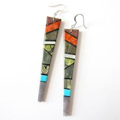 Bryon Coriz Earth Dagger Earrings - Beyond Buckskin Boutique