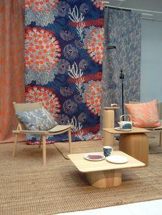 Marimekko - Merivuoko Marimekko, Summer 2015, Spring Summer, Interior Styling, Interior Design, Room Decor, Wall Decor, Moomin, Living Furniture