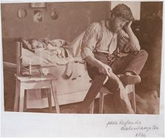 The Artist introduces the Volunteer,  c.1853       Infant Photography Gives the Painter an Additional Brush  London, about 1856  Albumen pri...