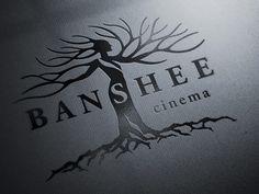 Banshee_1b #logo #design #inspiration