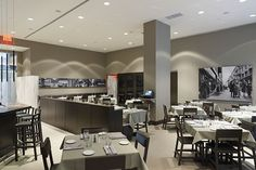 bistro interior photos | The Italian Touch of Café B from New York