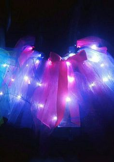 Check out this item in my Etsy shop https://www.etsy.com/au/listing/503818351/princess-pink-and-purple-led-tutu-skirt