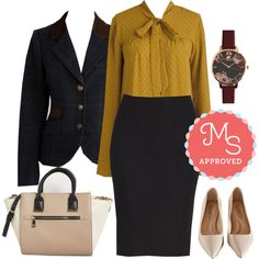 Projected Intellect Blazer by modcloth on Polyvore featuring Capita and Olivia…