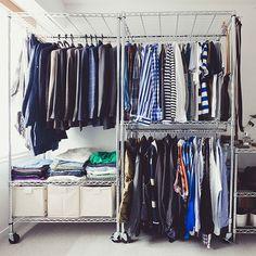 10 Gorgeous Open Closet Concepts For Advanced House Wardrobe Sets, Wardrobe Closet, Built In Wardrobe, Closet Space, Dressing Room Closet, Dressing Rooms, No Closet Solutions, Build A Closet, Store Interiors