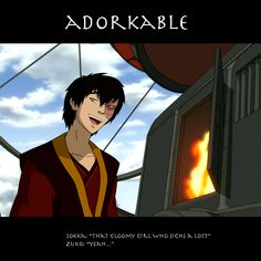 Avatar: The Last Airbender --- It just doesn't get better than the adorkable Zuko.