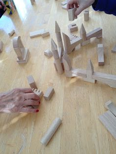 The Moveable Alphabet: Building with Blocks - Activities for the Elderly
