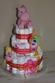 Love diaper cakes! So cute! :)