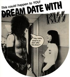 A Dream Date with KISS….