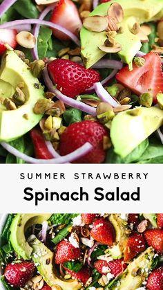 Best Salad Recipes, Summer Salad Recipes, Vegetarian Recipes, Healthy Recipes, Simple Salad Recipes, Dinner Salad Recipes, Vegetarian Pasta Salad, Salad Recipes Gluten Free, Salad Recipes For Parties