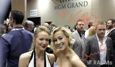 Kellie Pickler backstage at the American Country Music Awards.
