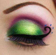 Lashes inspired by staches.