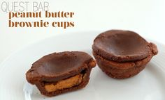 Quest Bar Peanut Butter Brownie Cups (take 2)