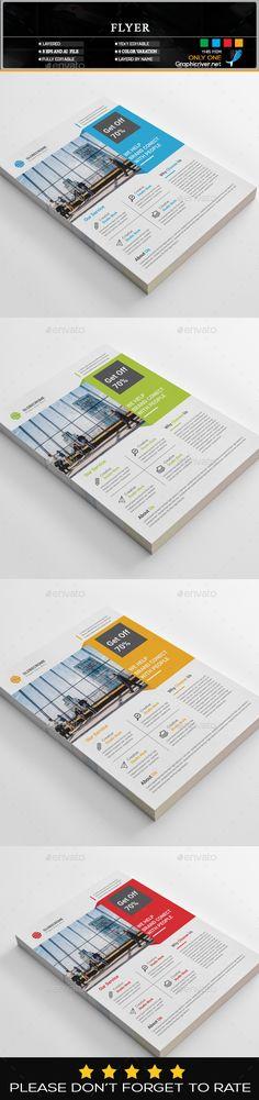 #Flyer - Flyers Print Templates Download Here: https://graphicriver.net/item/flyer/19609727?ref=suz_562geid