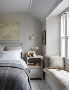 Idyllic coastal cottages to rent - cottage bedroom Rent Cottage, Cottage Bedroom, Home Bedroom, Bedroom Design, Luxurious Bedrooms, Coastal Bedroom Decorating, Cottage Interiors, Coastal Bedrooms, House Interior