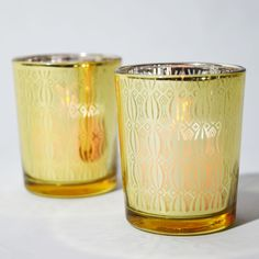votive tealight candle holders to beauty your tables! welcoming the new year in gold? make sure to have these votive tealight candle holders! #newyear