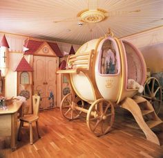every little girl's dream bedroom