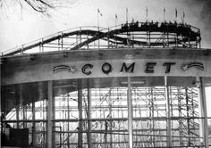 The Comet FOntaine Ferry Park, Louisville KY.....I remember my Dad talking about this roller coaster