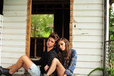 BMG models, Jordan and Mackenzi.  © danaustinphotography 2014
