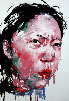 """Saatchi Online Artist: KwangHo Shin; Oil, Painting """"[62] untitled oil on canvas 116 x 80 cm 2013"""""""