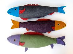 I LOVE these fishies.  I am not sure what appeals to me but I really like them!  Hahahahahaha!