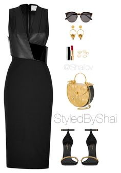 """""""Mistreated"""" by slimb ❤ liked on Polyvore featuring Dion Lee, Yves Saint Laurent, Okhtein, Chanel, Illesteva, Dolce&Gabbana, Charlotte Russe and StyledByShai"""