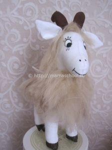 Коза из ткани - Мастер класс